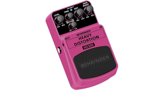 Behringer HD300 Heavy Distortion - педаль эффектов для электрогитары