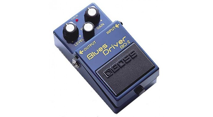 Boss BD-2 Blues Driver - педаль эффектов для электрогитары