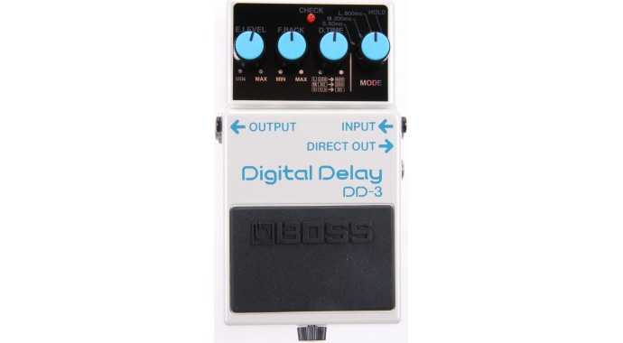 Boss DD-3 Digital Delay - педаль эффектов для электрогитары
