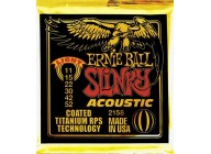 Ernie Ball 2158 Coated Bronze Acoustic Light 11-52