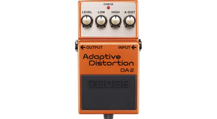 BOSS DA-2 Adaptive Distortion - педаль эффектов для электрогитары